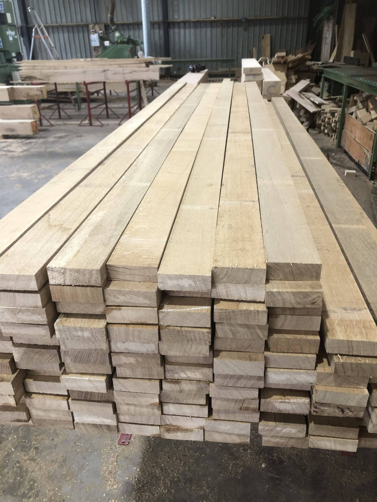 28mm Quarter Sawn Oak