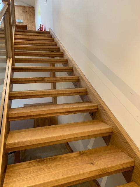 English Oak Staircase